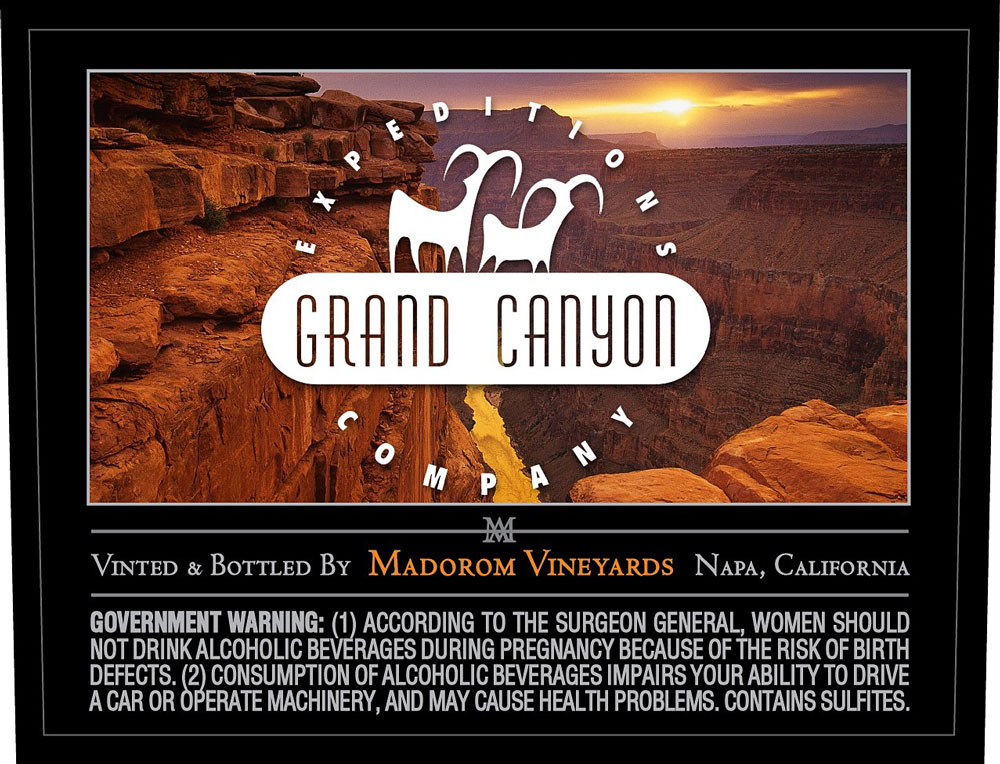 MadoroM Custom Labels: Grand Canyon Expedition