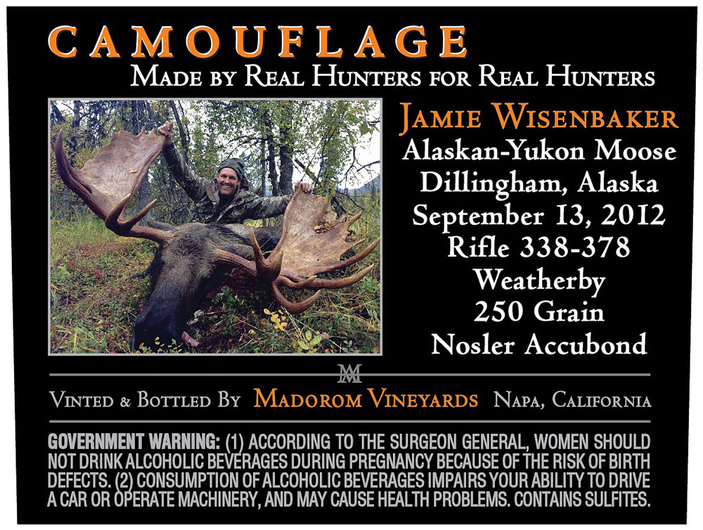 MadoroM Custom Labels: Jamie Wisenbaker Moose