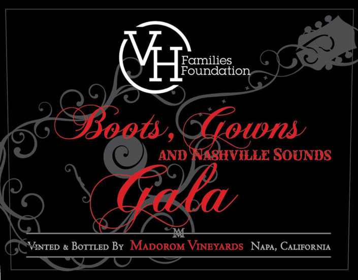 MadoroM Custom Labels: VH Families Foundation