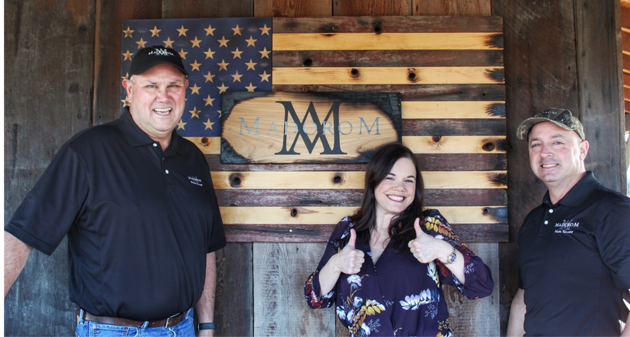 Andy & Marissa welcome you to MadoroM Vineyards